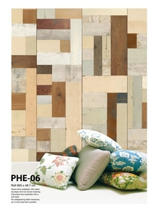 Scrap Wood Wallpaper PHE-06