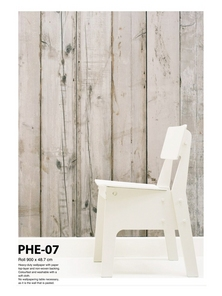 Scrap Wood Wallpaper PHE-07