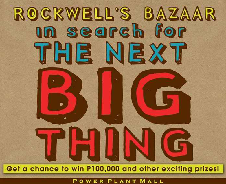 Rockwell's Bazaar - In search for the NEXT BIG THING