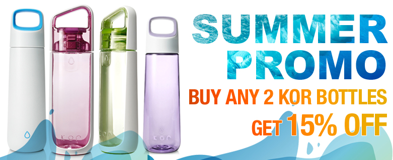 KOR Bottle Summer Promo 2013!